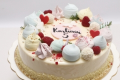 Maskarpones - aveņu bērnu torte