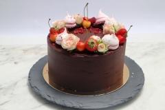 Šokolādes bezglutēna upeņu torte
