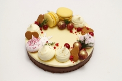 Šokolādes torte Ziemassvētkos