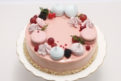 Maskarpones - aveņu torte. Musa kūka
