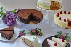 Degustācijas kūkas