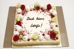 Torte Latvijai dzimsanas dienā!