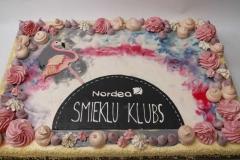 Maskarpones - aveņu torte korporatīvam pasākumam. 25 kg