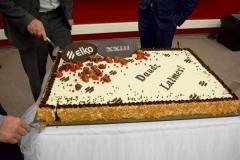 30 kg Šokolādes torte ELKO jubilejā
