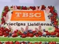 Korporatīvā torte, uzņēmumam jubilejā