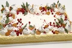 Korporatīvā Ziemassvētku torte