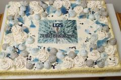 Maskarpones - aveņu torte ar kraukšķi korporatīvam pasākumam