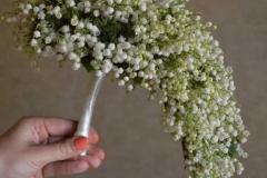 Klasisks un smaržīgs maijpuķīšu līgavas pušķis