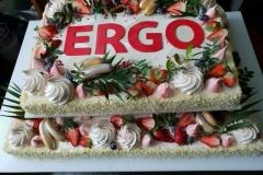 Korporatīvās tortes. Lielas tortes.