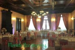 Svinību zāles noformējums kāzām. Bīriņu pils