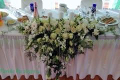 Jaunlaulāto galda dekors. Villa Anna