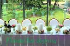 Jaunlaulāto galda noformējums. Ziemeļblāzma