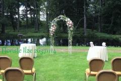 Laulības ceremonijas noformējums. Dikļu pils