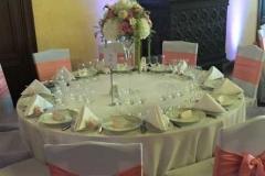 Viesu galda noformējums. Bīriņu pils