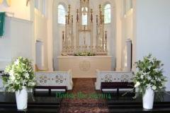 Kāzu ceremonijas noformējums - baznīca. Bulduru baznīca
