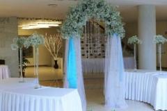 Ziedu arka kāzām, izbraukuma laulības ceremonijai, kāzas brīvā dabā