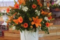Liela ziedu kompozīcija