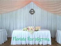 Svinību telpas noformējums kāzām. Ide