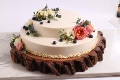 Vieglas, vasarīgas musa kūkas - deserti. Maskarpones- avenu.