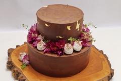 Šokolādes kāzu kūka ar piegādi